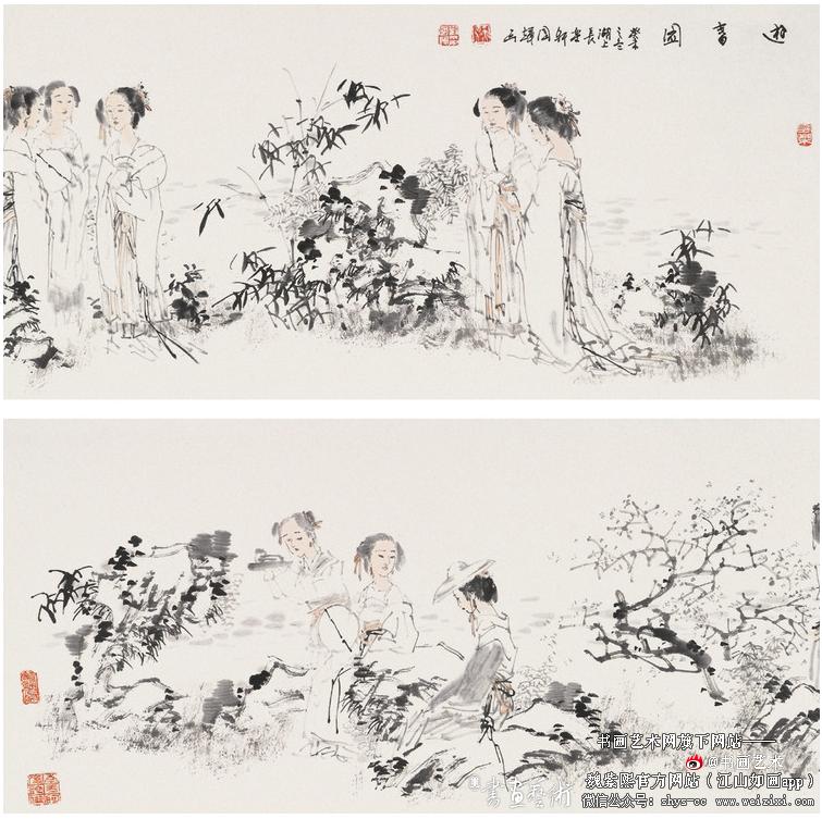 刘国辉人物作品欣赏 书画文章 第4张
